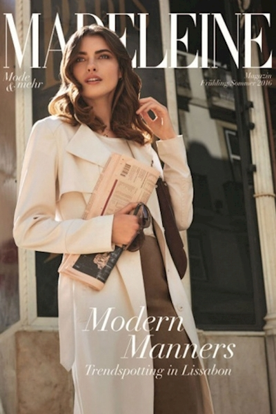 Simona Bitiusca cover and editorial for Madeleine Magazine