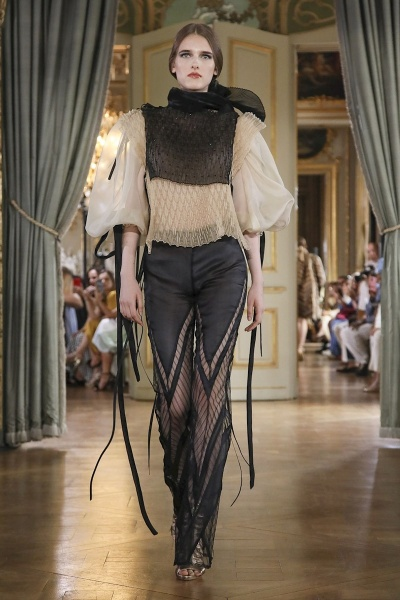 Flavia Bogoevici for FARHAD RE Paris Couture Fall Winter 2019