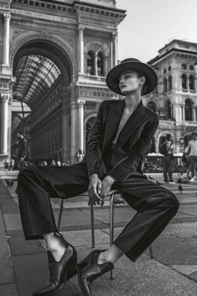 Paula Cioltean editorial Vanity Fair Italy October 2020